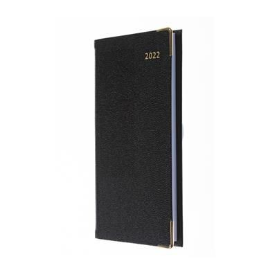 Picture of COLLINS BUSINESS POCKET SLIMCHART WEEKLY NOTES DIARY in Black