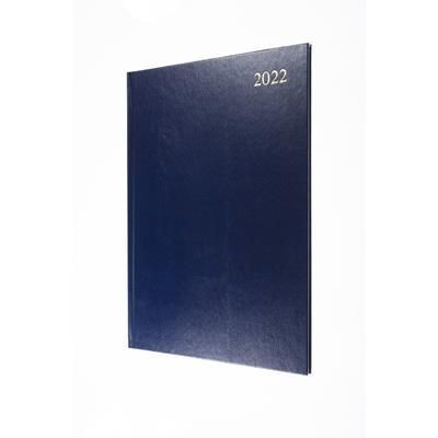 Picture of COLLINS ESSENTIAL A4 WEEK TO VIEW DIARY in Blue