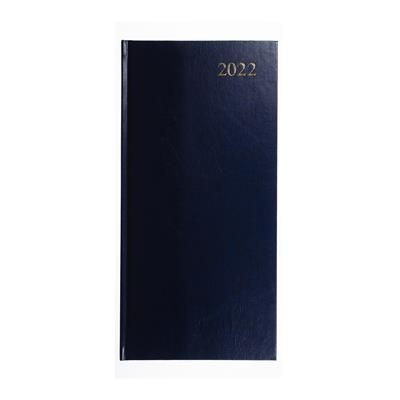 Picture of COLLINS ESSENTIAL SLIMCHART DIARY in Blue