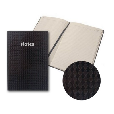 Picture of COLLINS HYPE A5 NOTE BOOK in Black