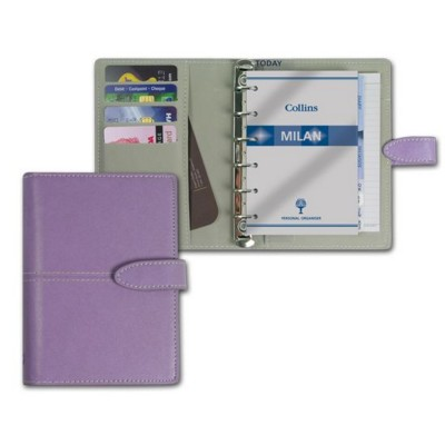 Picture of COLLINS MILAN PVC POCKET ORGANIZER in Lilac