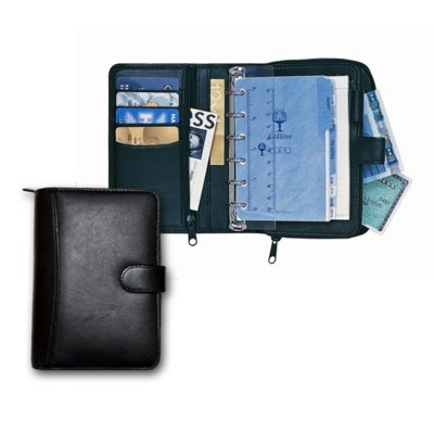 Picture of COLLINS STIRLING POCKET ORGANIZER in Black