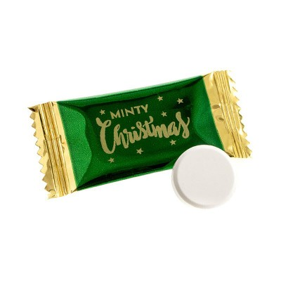 Picture of MINTY CHRISTMAS FLAT IMPERIAL MINTS SWEETS