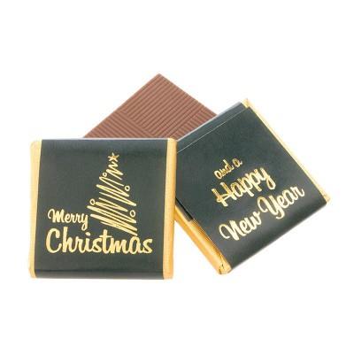 Picture of CHRISTMAS NEAPOLITAN CHOCOLATE SINGLE COLOUR