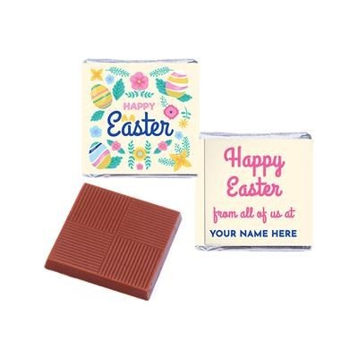 Picture of EASTER NEAPOLITAN CHOCOLATES FULL COLOUR - PERSONALISED