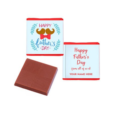 Picture of FATHERS DAY NEAPOLITAN CHOCOLATE FULL COLOUR