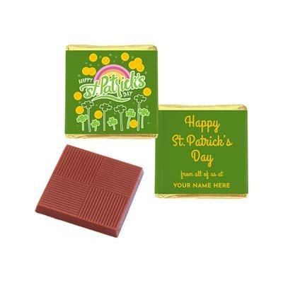Picture of ST PATRICK'S DAY NEAPOLITAN CHOCOLATES FULL COLOUR - PERSONALISED