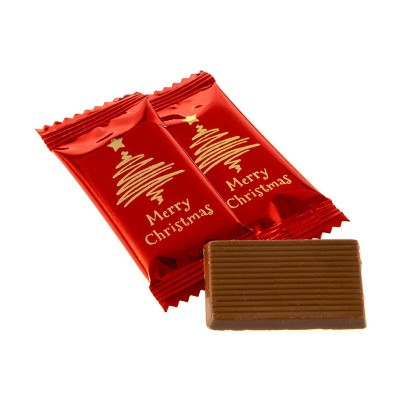 Picture of CHRISTMAS CHOCOLATE MINI BARS PETIT