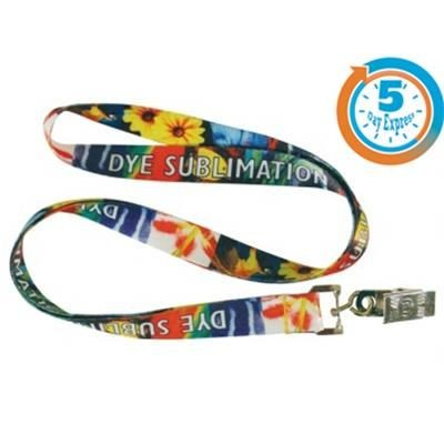 Picture of 5 DAY EXPRESS DYE SUBLIMATED LANYARD