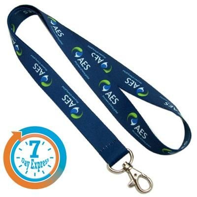 Picture of EXPRESS DYE SUBLIMATION PRINTED POLYESTER LANYARD