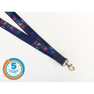 Picture of 5 DAY EXPRESS DYE SUBLIMATED LANYARD with Safety Break