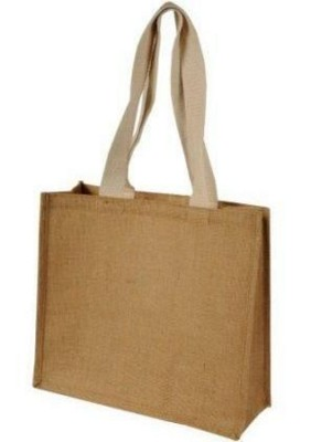 Picture of CHUI JUTE BAG with Long Cotton Strap Handles in Natural