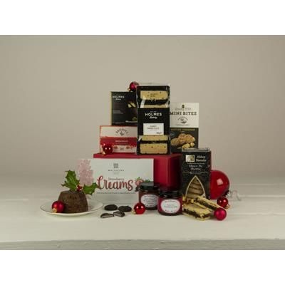 Picture of CHRISTMAS CRACKER HAMPER GIFT BOX