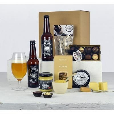 Picture of BEER, CHEESE AND CHOCOLATE HAMPER