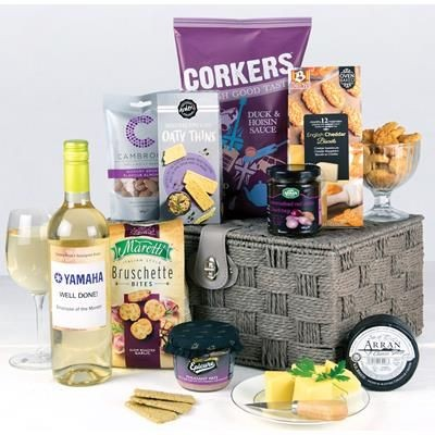 Picture of BRANDED HAMPER - LUXURY CHEESE GIFT BASKET