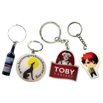 Picture of PRINTED FULL COLOUR METAL KEYRING