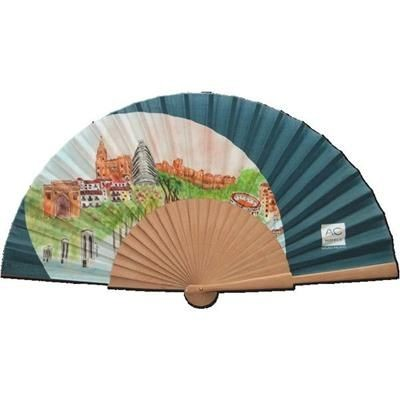 Picture of SPANISH STYLE FABRIC FAN