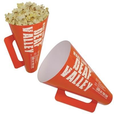 Picture of MEGAPHONE POPCORN HOLDER