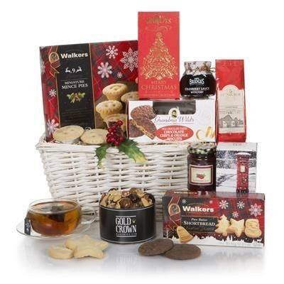 Picture of WHITE CHRISTMAS HAMPER