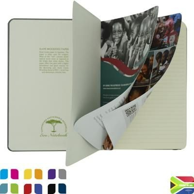 Picture of A5 ECO NOTE BOOK with Tip in Page