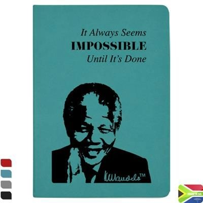 Picture of MANDELA A6 COLOUR NOTE BOOK