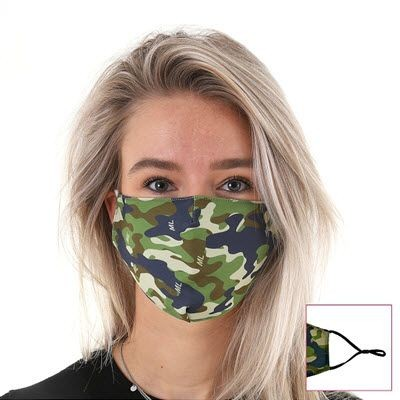 Picture of FULL COLOUR PRINTED FACE MASK