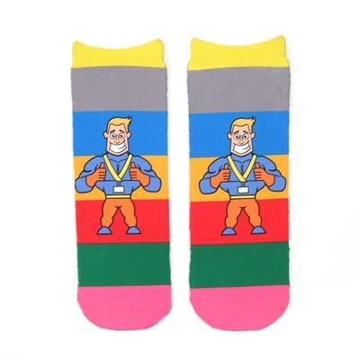 Picture of FULL COLOUR SOCKS SHORT