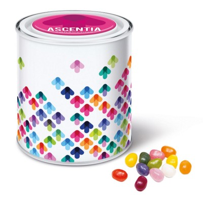 Picture of GOURMET JELLY BEANS in Large Paint Style Tin