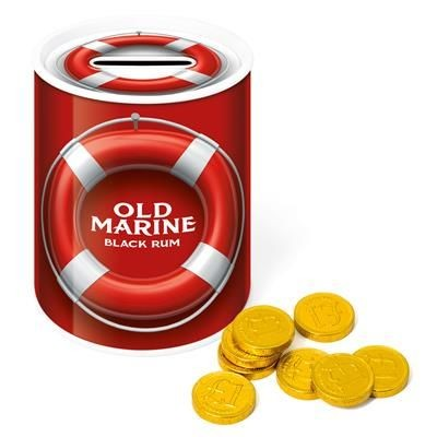 Picture of MONEY TIN with Chocolate Coin