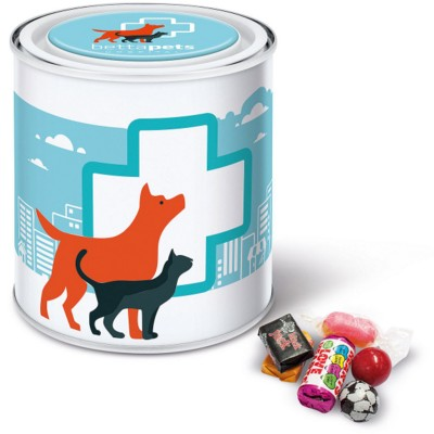 Picture of RETRO SWEETS in Large Paint Style Tin