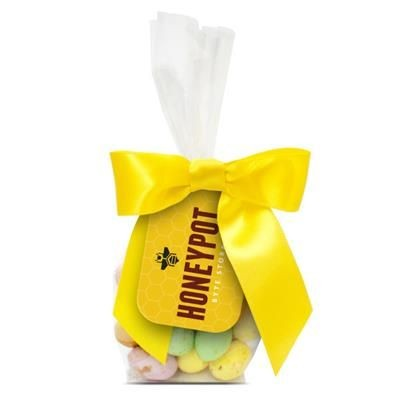 Picture of SPECKLED CHOCOLATE MINI EGGS in Mini Tag Bag