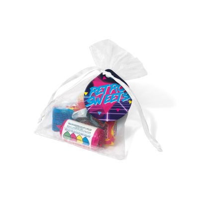 Picture of ORGANZA BAG - RETRO SWEETS