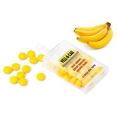 Picture of RAINBOW FRUIT DROPS in Yellow - Natural Banana
