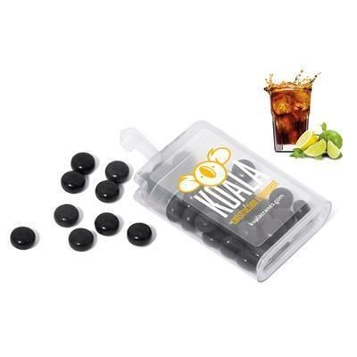 Picture of RAINBOW FRUIT DROPS in Black - Natural Cola