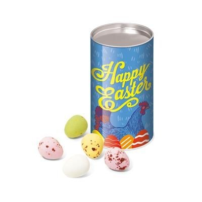 Picture of EASTER SMALL SNACK TUBE - SPECKLED MINI EGGS