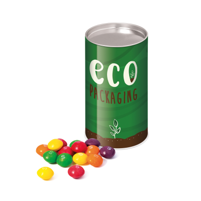 Picture of ECO RANGE SMALL SNACK TUBE FILLED with Skittles