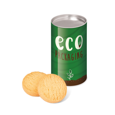 Picture of ECO SMALL SNACK TUBE with Mini Shortbread Biscuit