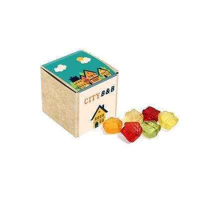 Picture of ECO KRAFT CUBE with Kalfany Fruit Gums