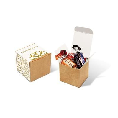 Picture of ECO KRAFT CUBE with Celebrations Chocolates