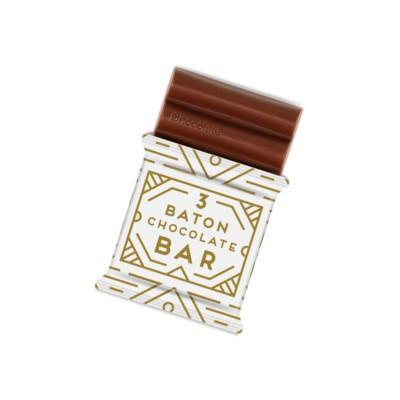 Picture of 3 BATON MILK CHOCOLATE BAR