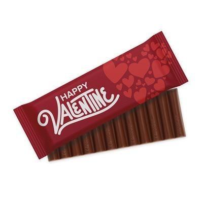 Picture of VALENTINES 2020 12 BATON MILK CHOCOLATE BAR