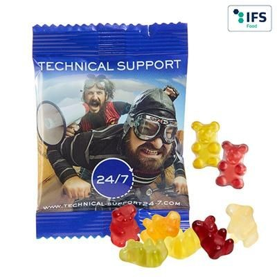 Picture of OVERNIGHT EXPRESS FRUIT GUM PREMIUM BEARS