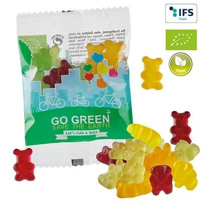 Picture of VEGAN ORGANIC FRUIT GUM BEARS