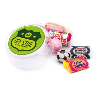 Picture of MAXI ROUND RETRO SWEETS POT