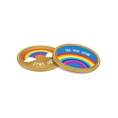 Picture of 55MM CHOCOLATE MEDALLION