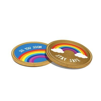 Picture of 75MM CHOCOLATE MEDALLION