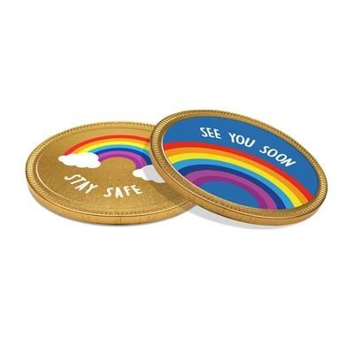 Picture of 100MM CHOCOLATE MEDALLION