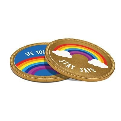 Picture of 125MM CHOCOLATE MEDALLION