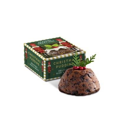 Picture of WINTER 21 MINI CHRISTMAS PUDDING ECO BOX