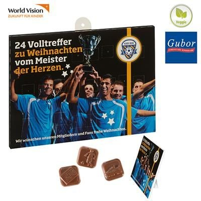 Picture of FOOTBALL CHOCOLATE ADVENT CALENDAR